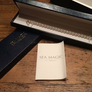 Mikimoto Sea Magic pearl bracelet gold